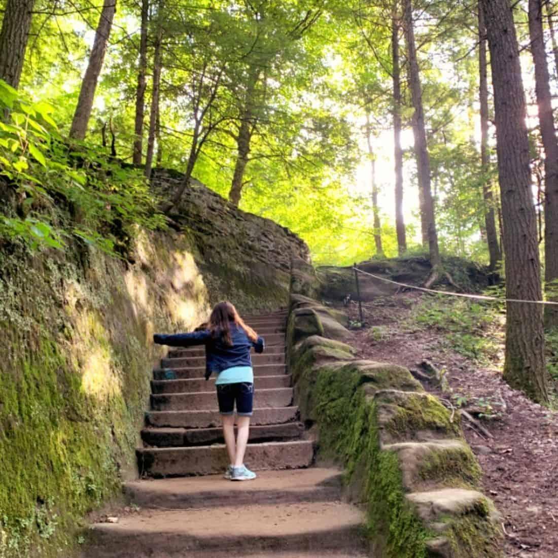 Old Man's Cave – Hocking Hills Ohio