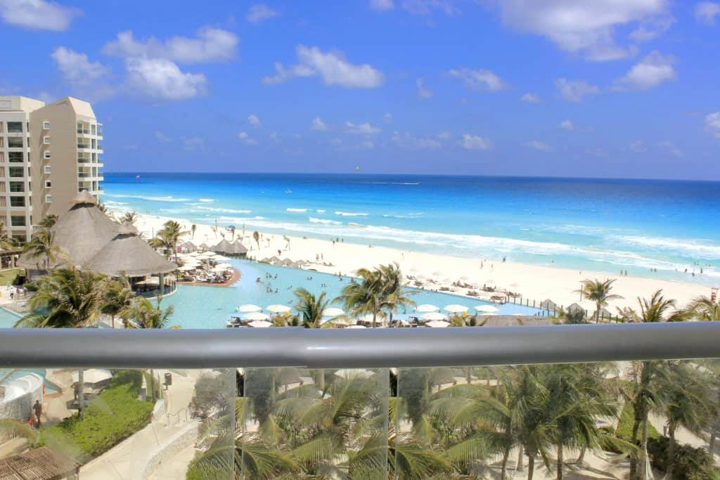 Westin Lagunamar Cancun View from Balcony