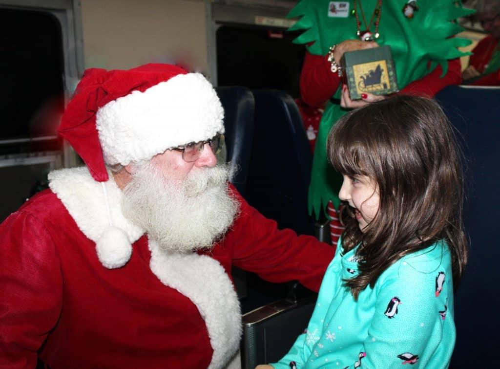 Polar Express Santa