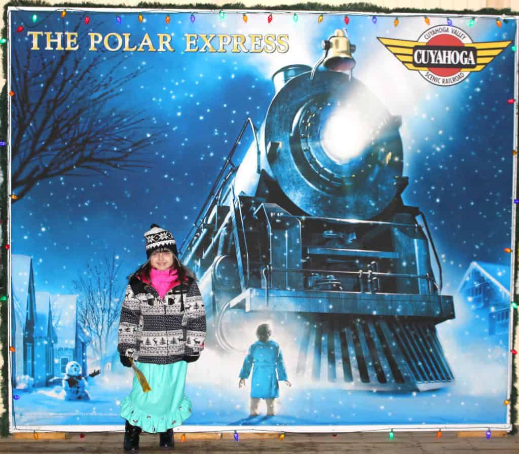 Polar Express welcome