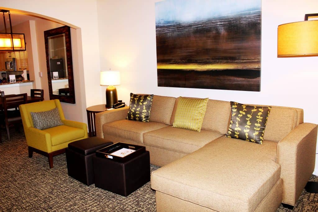 Westin Rancho Mirage living room