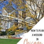How to plan a weekend in Chicago for under $400
