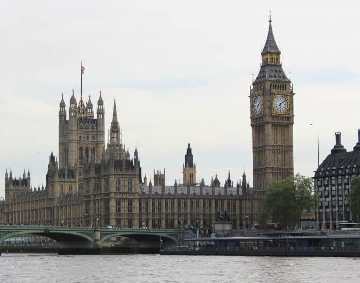 Best things to do with kids in London - Big Ben and Parliament