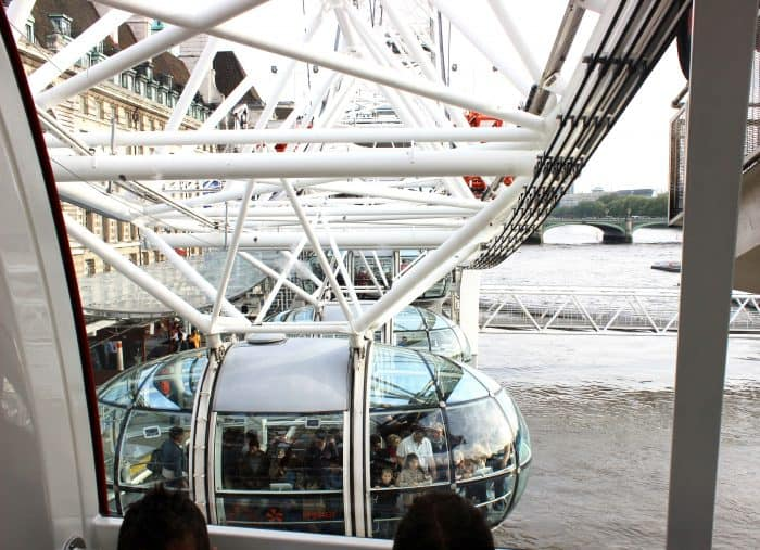Fun things to do in London with kids - ride the London Eye