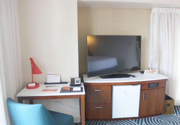 Desk area in the Hyatt Regency Grand Cypress Executive Suite review