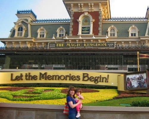 How to have a Stress Free Disney Trip - Magic Kingdom entrance
