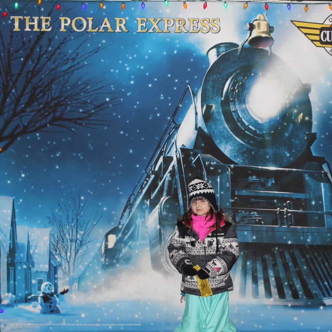 Polar Express Cleveland - Welcome sign