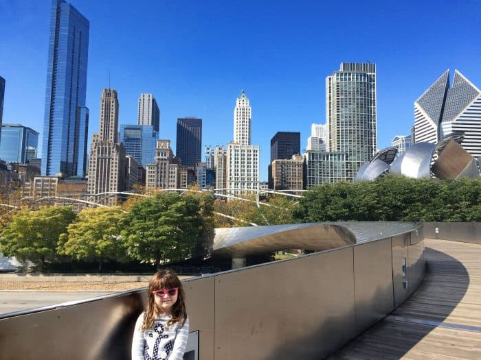 Things for kids to do in Chicago - visit Millenium Park