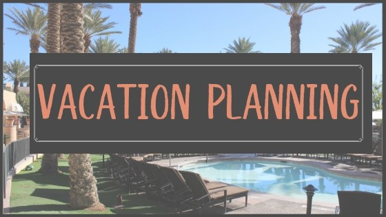 Vacation planning button