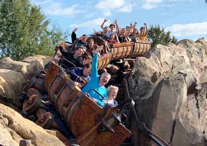 Seven Dwarfs Mine Train rollercoaster at Disney World
