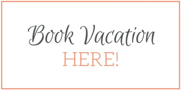 Orange and gray text saying Book Vacation Here
