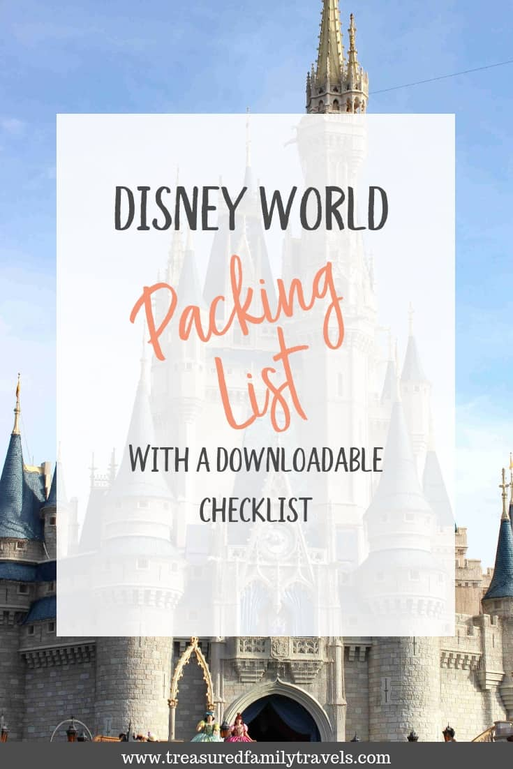 Don't forget your mouse ears when you follow this Disney World packing list!  Download this checklist to ensure you have everything you need for your Disney vacation.