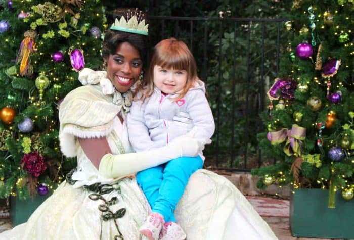 Have to have Princess Tiana and young girl on any Disney princess list