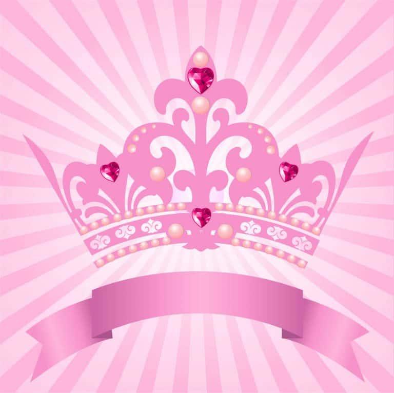 disney princess crown - pink