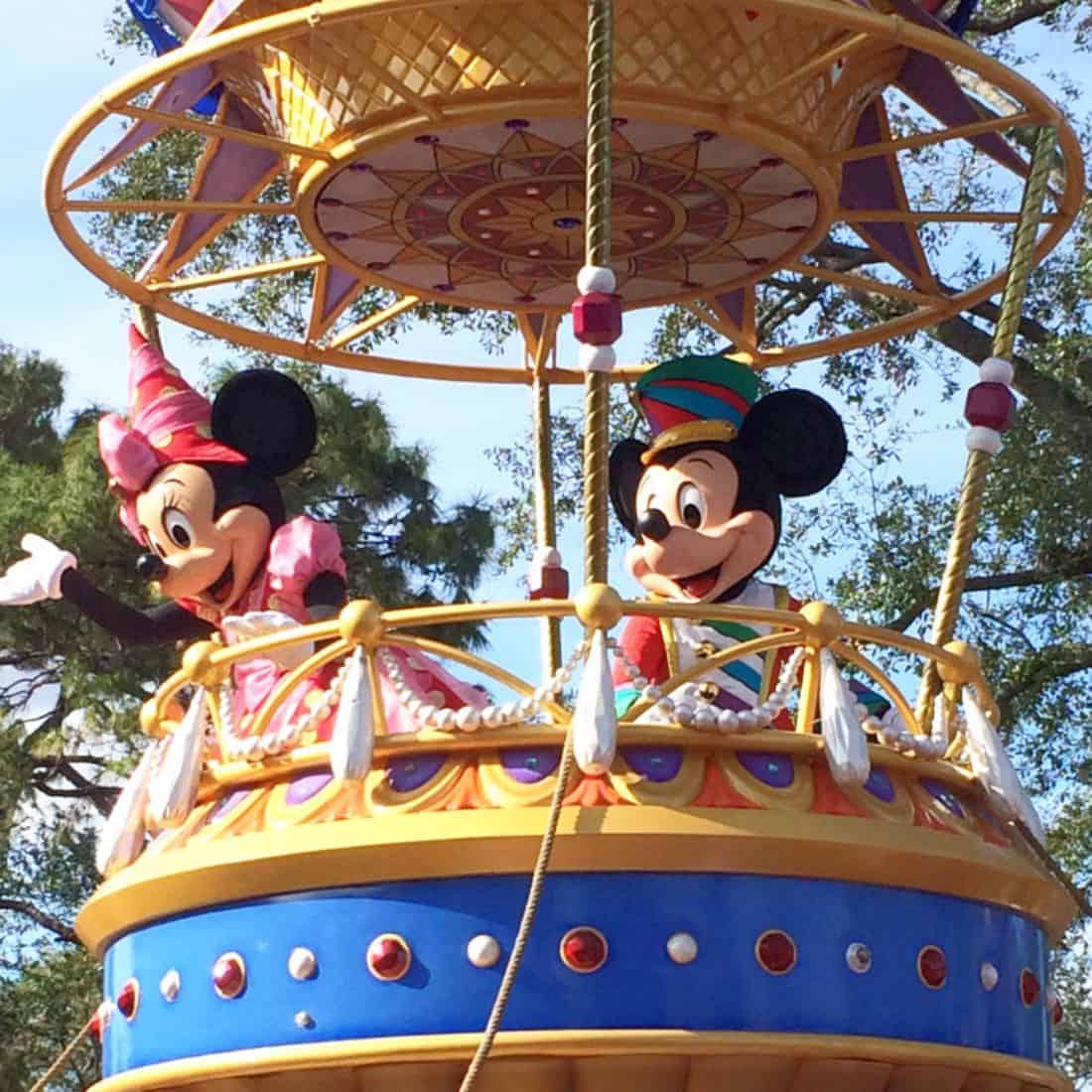 Disney's Festival of Fantasy Parade Route