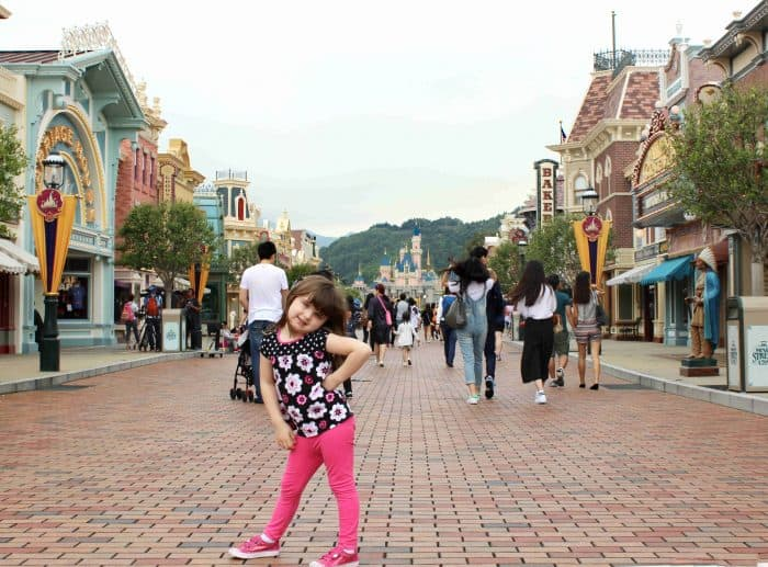 Hong Kong Disneyland Review - Looking down Main Street