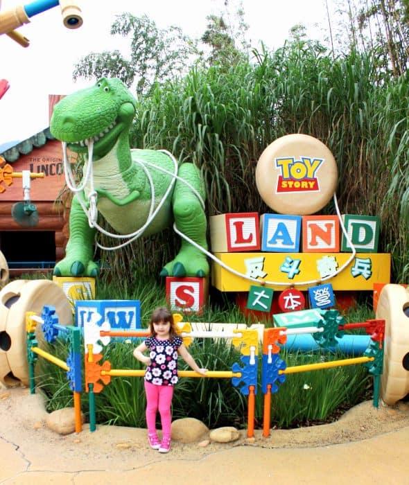 Hong Kong Disneyland Review - Toy Story Land entrance