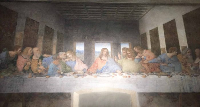 Milan with kids - da Vinci's The Last Supper