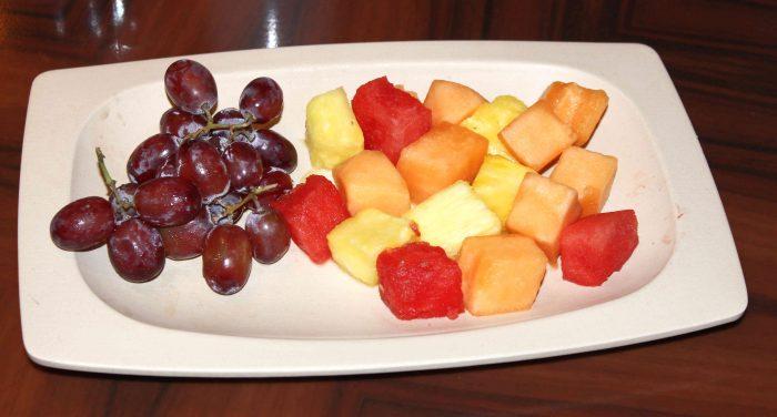Ohana Character Breakfast fruit plate