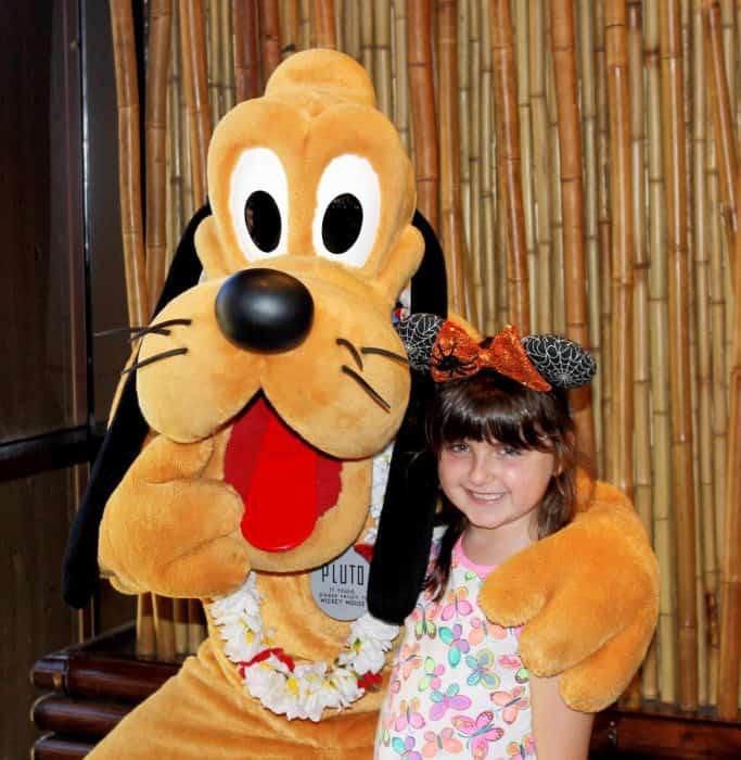 Ohana Character Breakfast with Pluto