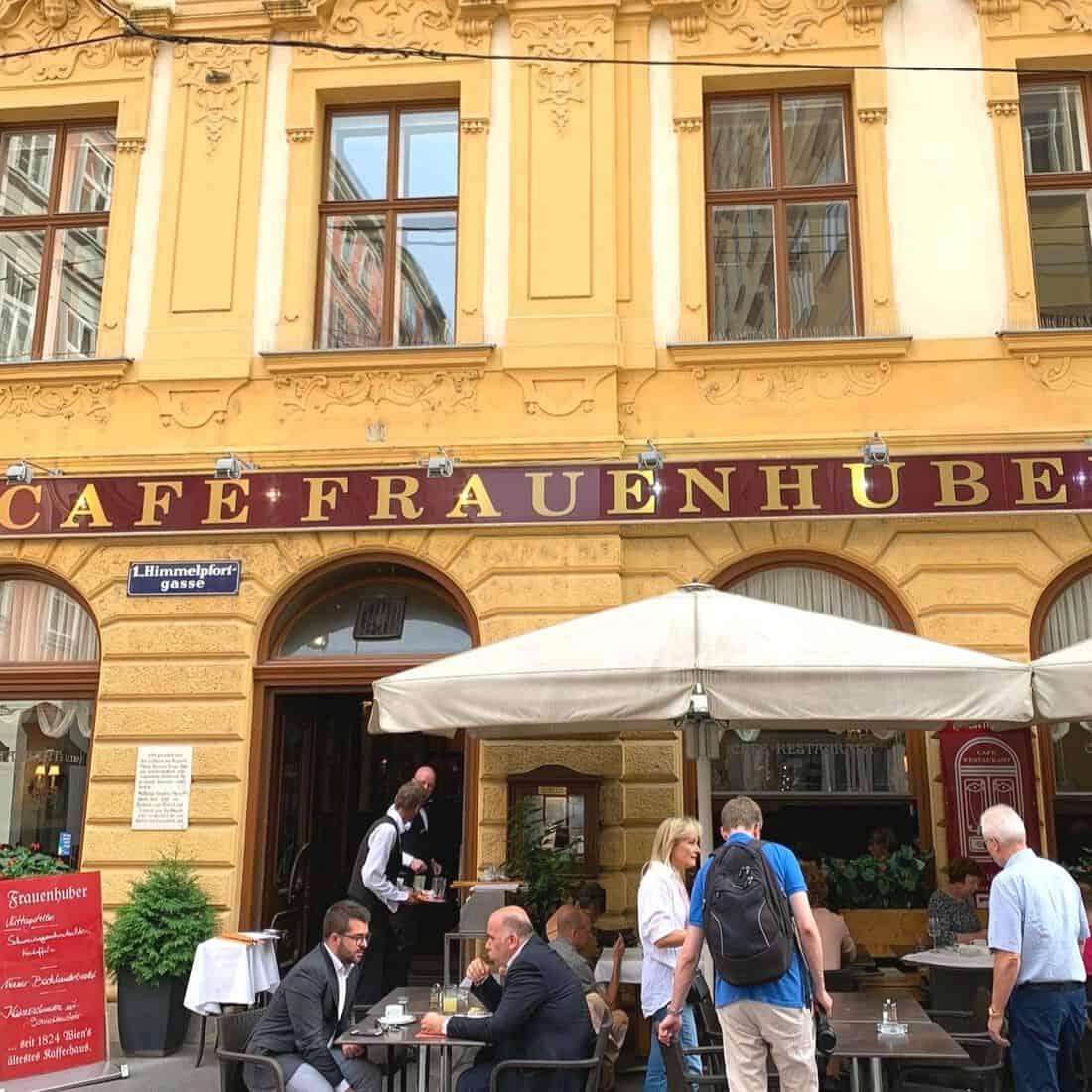 Oldest Café in Vienna – Café Frauenhuber review