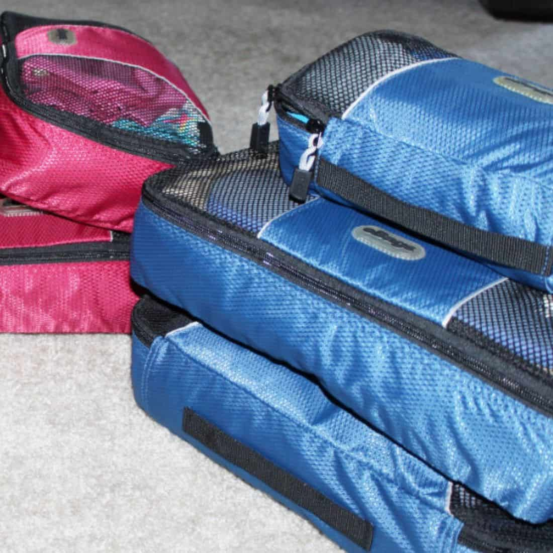 How to use packing cubes efficiently